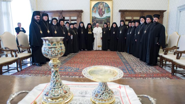 Full Pope-Melkite communion formalised