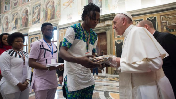 Pope decries toleration of widespread sex trafficking
