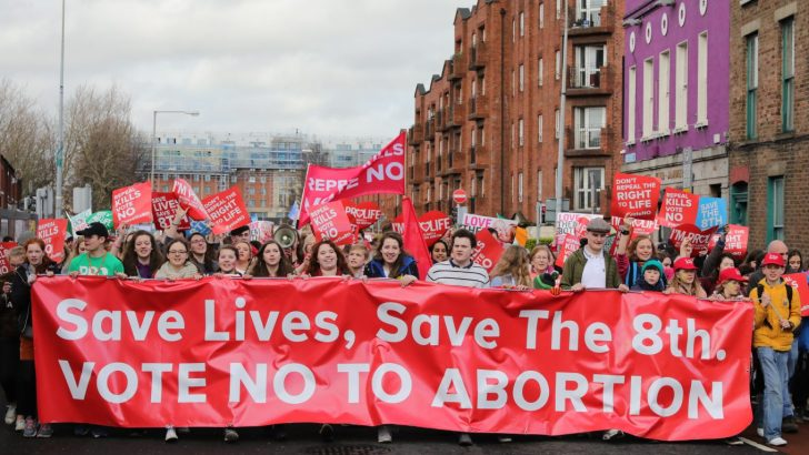 Huge crowds attend pro-life rally as referendum approaches