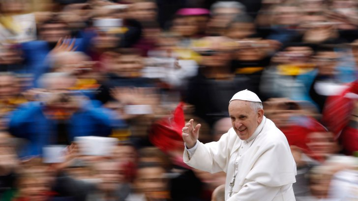 Papal Mass fully booked out with six weeks to go
