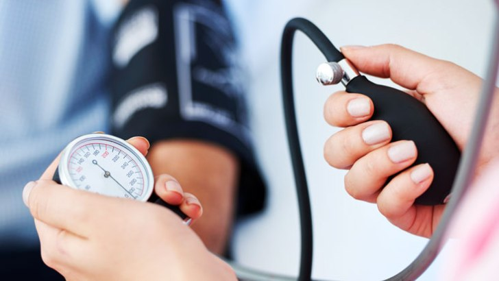 Regular blood pressure checks are important