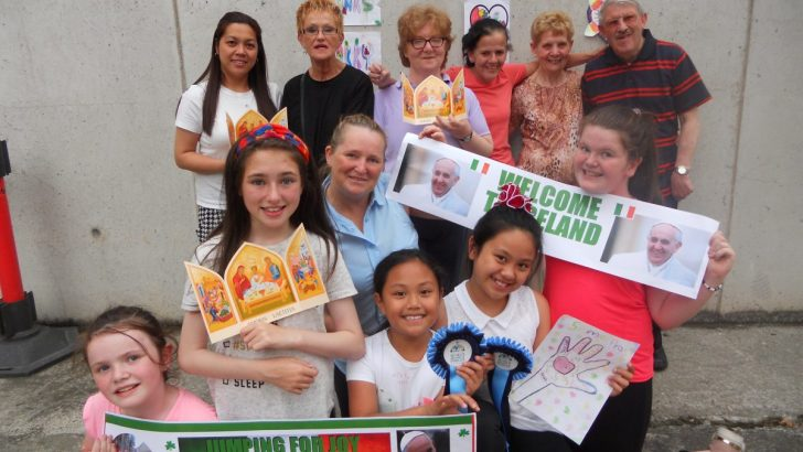 Family group engages fully with WMOF preparations