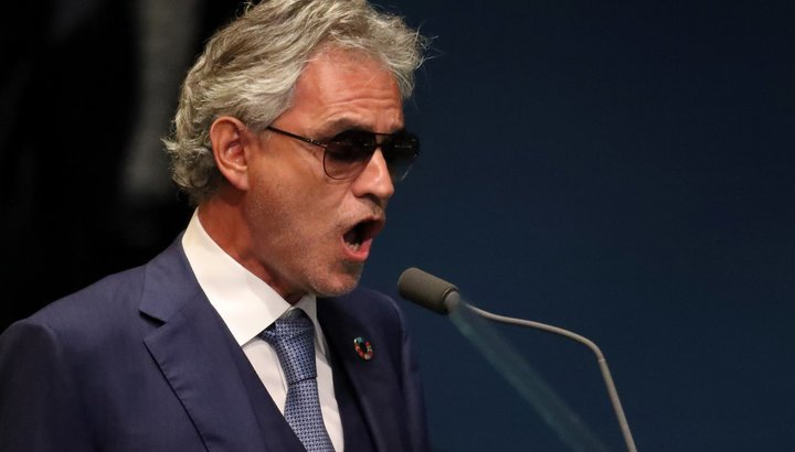 Andrea Bocelli highlights value of family