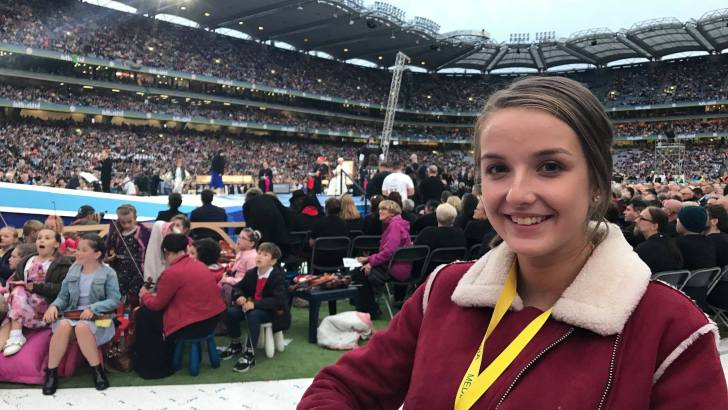 'My 36 hours as part of the visit of Pope Francis to Ireland for WMOF2018'