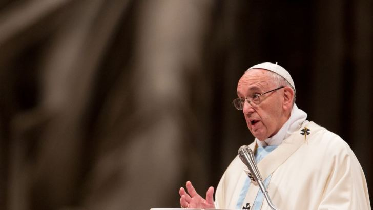Devil targets those who succumb to negativity, warns Pope