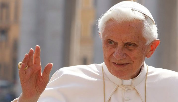 Pope Benedict's name removed from controversial celibacy book