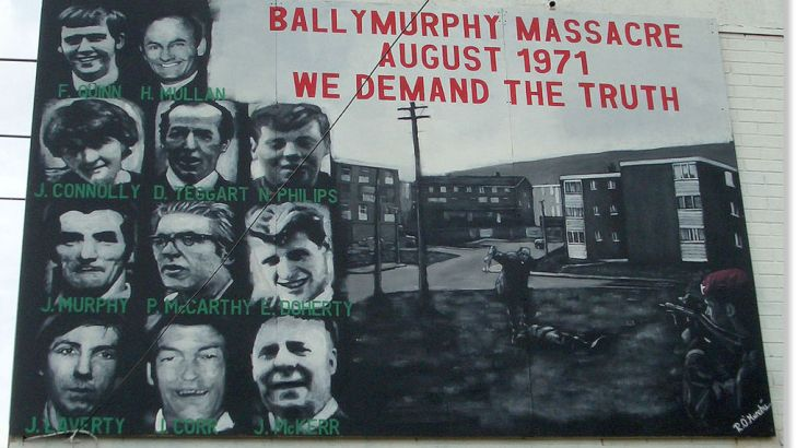 Priest praises Ballymurphy Massacre families at memorial