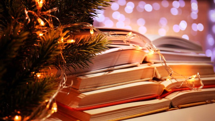 A selection of Christmas books for readers of all kinds