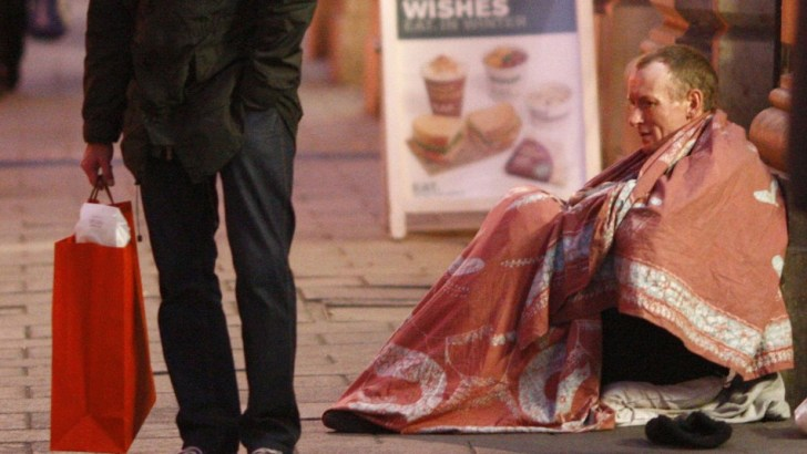 Record-breaking figures for homelessness charity