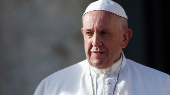 Gay priests who aren't celibate should leave clergy says Pope