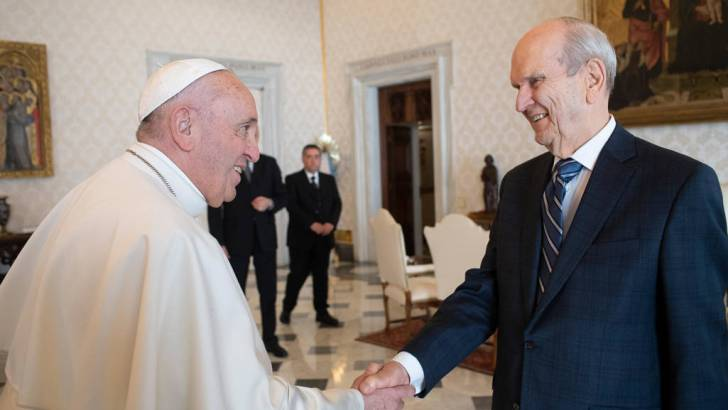 Differences are secondary say Ireland's Mormons after Pope meeting