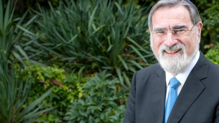 Rabbi Sacks taught us to move from self-esteem to other-esteem
