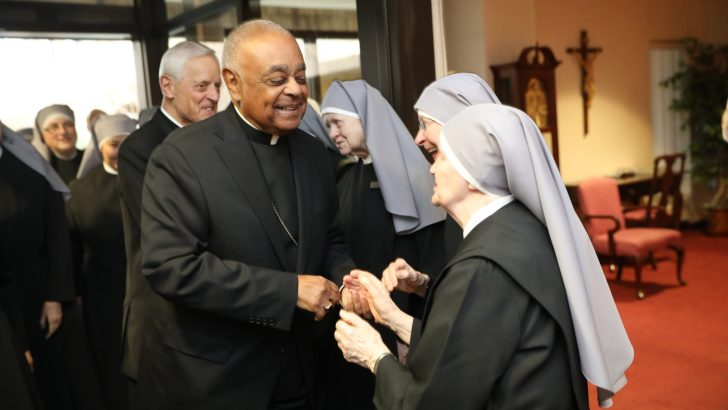 Many focused on what Washington's new archbishop will say about race