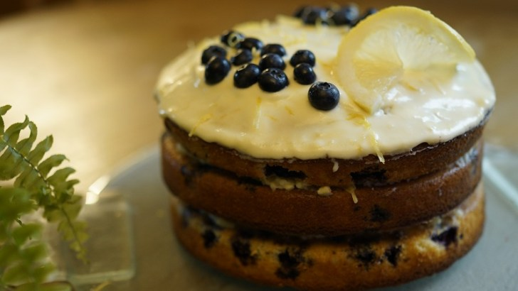 Lemon and Blueberry Cake – A fresh, sweet summer treat