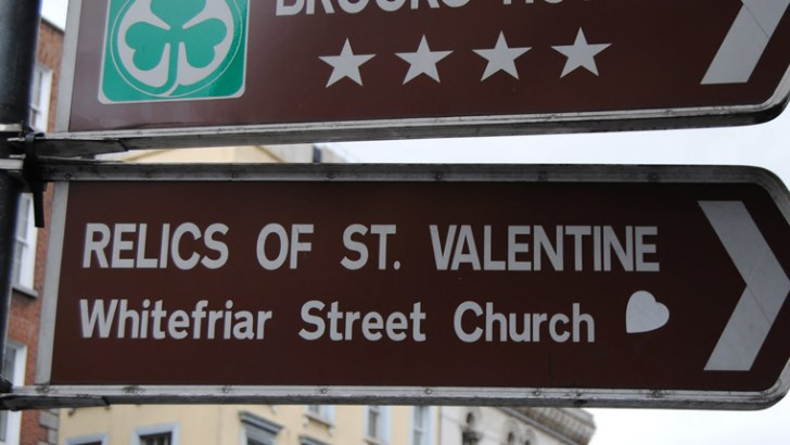 No love lost over Dublin's St Valentine Shrine medal scam