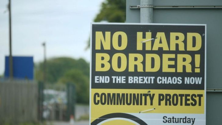 'Fear and anger' in border parishes as Brexit chaos nears