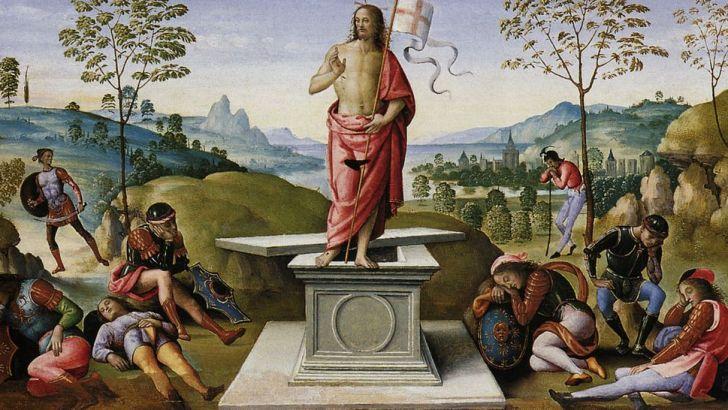 Christ is risen – alleluia!