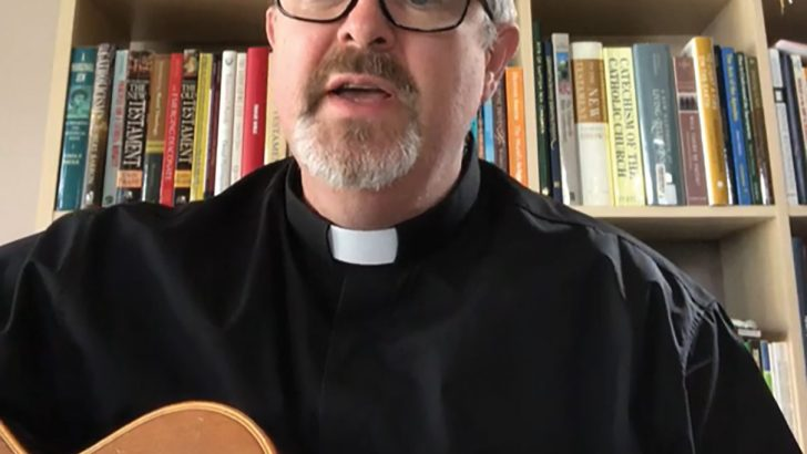 Faith, ministry and music a holy trinity for one deacon