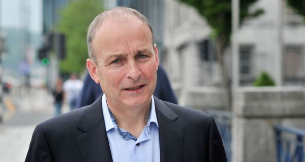 Bishop Fintan Gavin congratulates Micheál Martin on election as Taoiseach