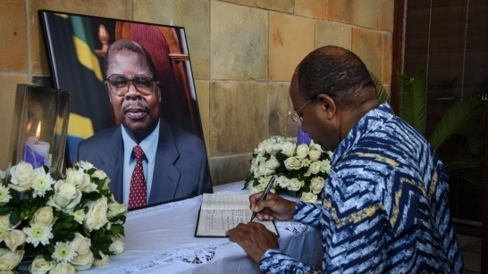 Tanzania mourns Benjamin Mkapa, former president who worked for peace