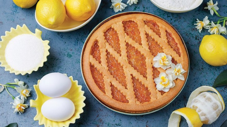 Light up the room with a lemon tart