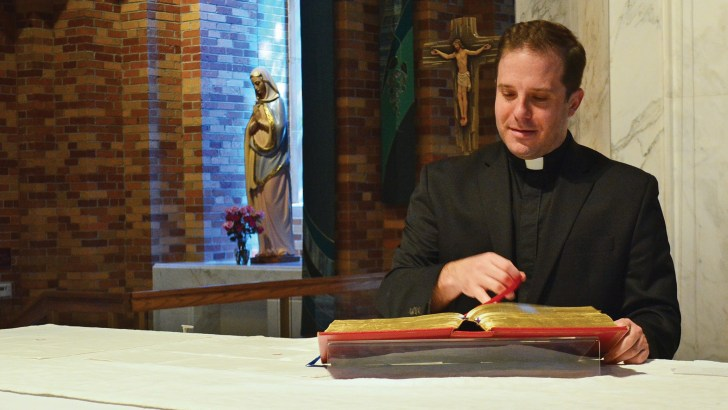 He thought he was a priest – he wasn't even baptized