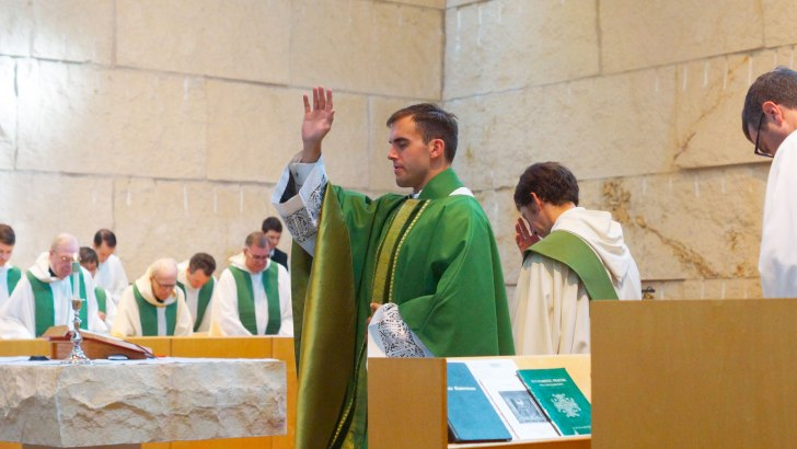 Second invalidly baptised priest baptised and re-ordained