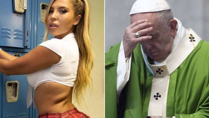 Pope's Instagram account 'likes' Brazilian model's racy photo