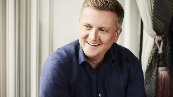 Walking on air with Aled Jones