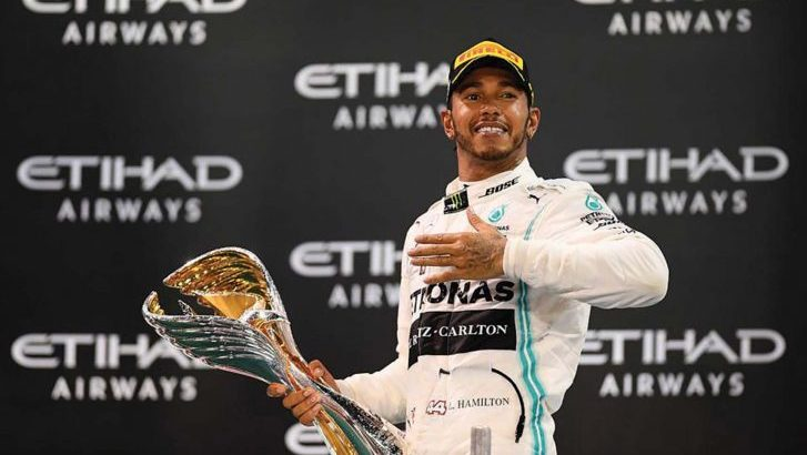'Sir' Lewis Hamilton insists God is at the wheel