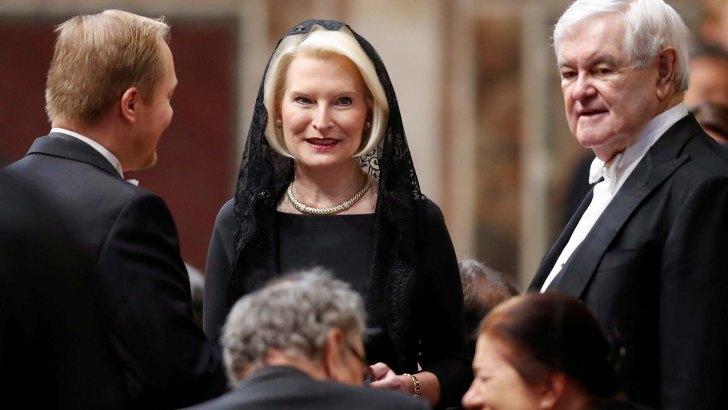 As Callista Gingrich departs, she's the new 'COAT' in US/Vatican ties