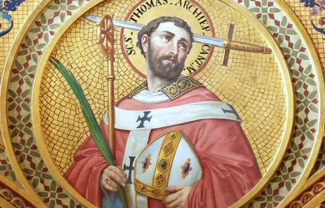 White House proclamation honours St Thomas Becket's martyrdom
