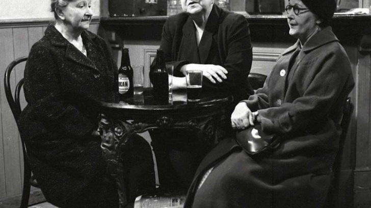 Ena Sharples and cronies in Coronation Street: God's word on 'the Street'