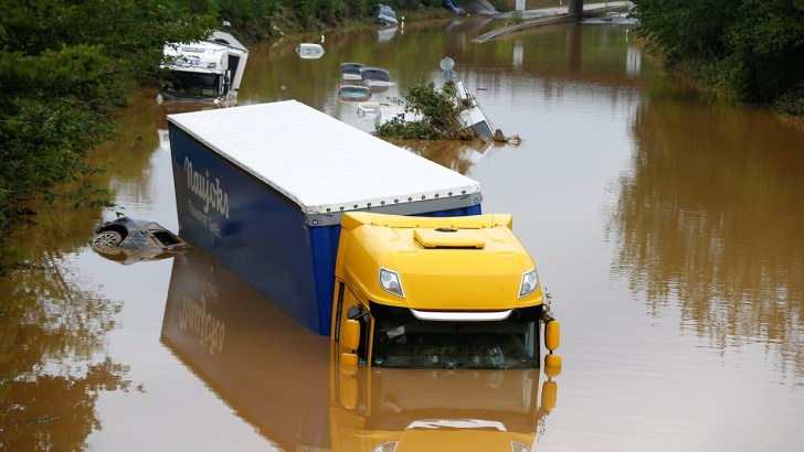 Floods in Germany and fires in US call us to action for creation