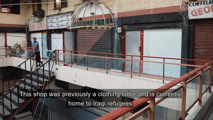 Christian refugees in Lebanon live in abandoned mall amid economic crisis