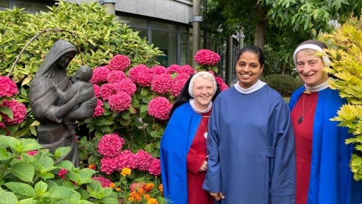 Female religious cause for joy across Ireland