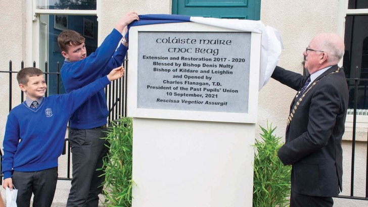 'Mammoth' construction works equip Knockbeg College for next century