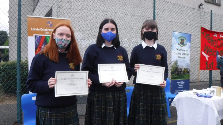 Praying for Swords schoolgirls to be inspired by 'courage and generosity'
