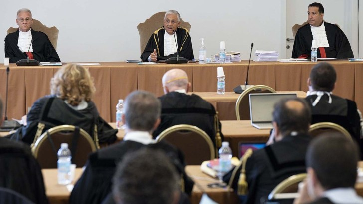 In money and sex abuse cases, Vatican tribunal shows some spine
