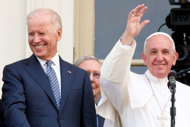 Pope Francis congratulates President-elect Joe Biden in call