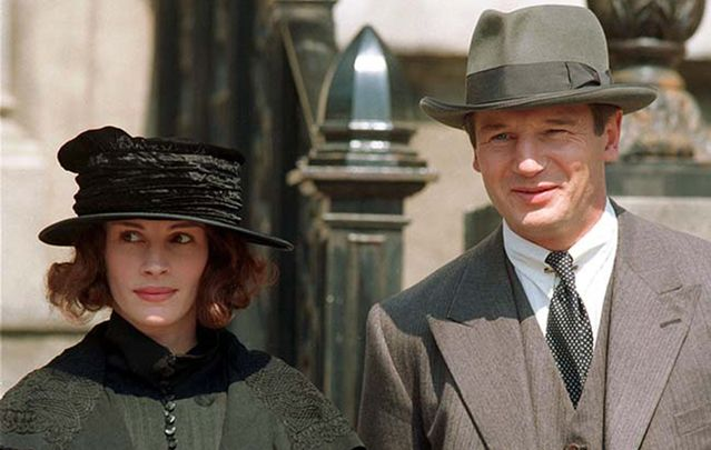 Image result for julia roberts and liam neeson in michael collins