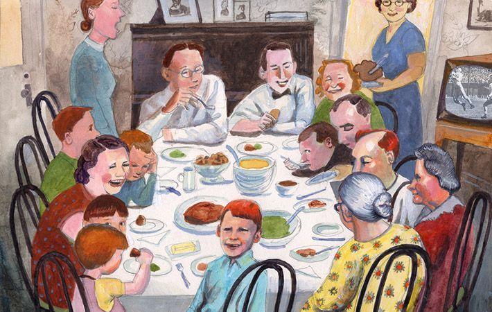 A Bronx Irish Thanksgiving In Days Gone By
