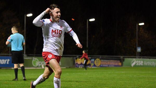 Darragh Burns hits the winner as Saints claim U19 League of Ireland crown
