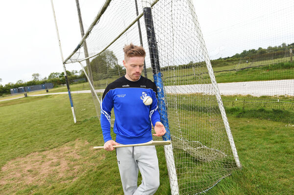 Hurler Eoin O'Sullivan at Sarsfields Hurling Club training pitches near Glanmire. Picture: Larry Cummins