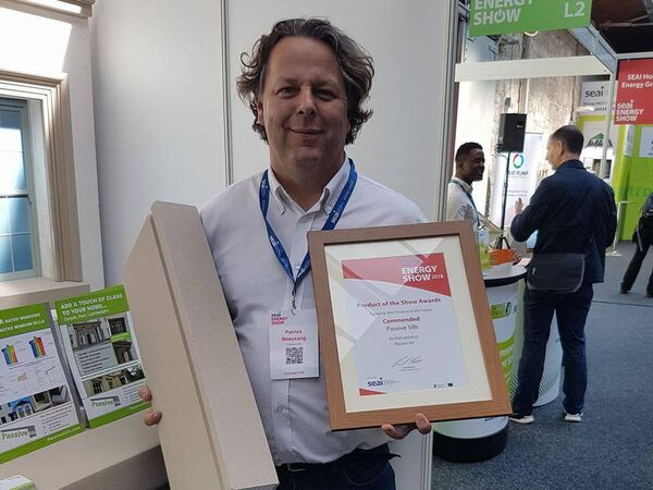 """Patrick Beausang of Youghal, Co Cork company Passive Sills: """"If you work with the regulations, they work to your advantage."""""""