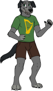 Bran IrishFurries Anthro Mascot