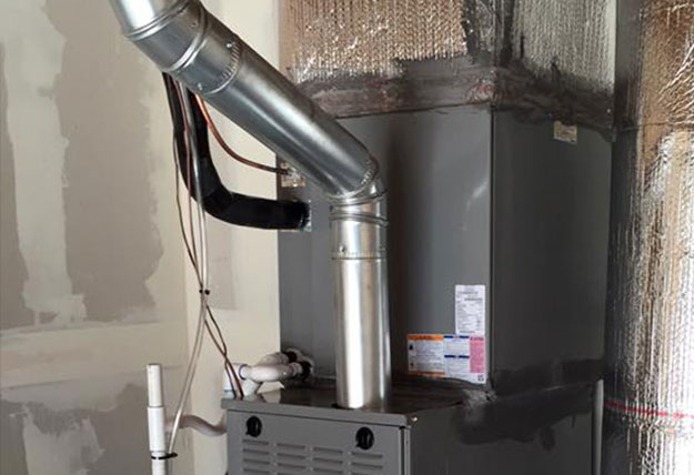 your furnace exhaust pipe is leaking