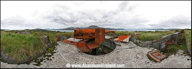 Berehaven port defences today