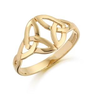 9ct Gold Celtic Ring-3239