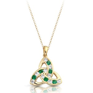 9ct Gold Celtic Pendant-P012G
